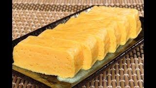 """[Halal Recipe] Japanese omelette """"tamagoyaki"""" Sweet and savoury"""