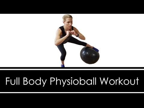 FULL BODY: PHYSIOBALL (STABILITY BALL) WORKOUT