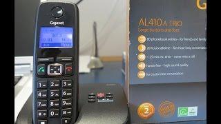 Gigaset AL410A cordless phones review - cheap cordless phones