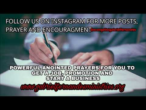 Powerful Prayers For Jobs, Promotion, Business And Success, Daily Promise And Prayer
