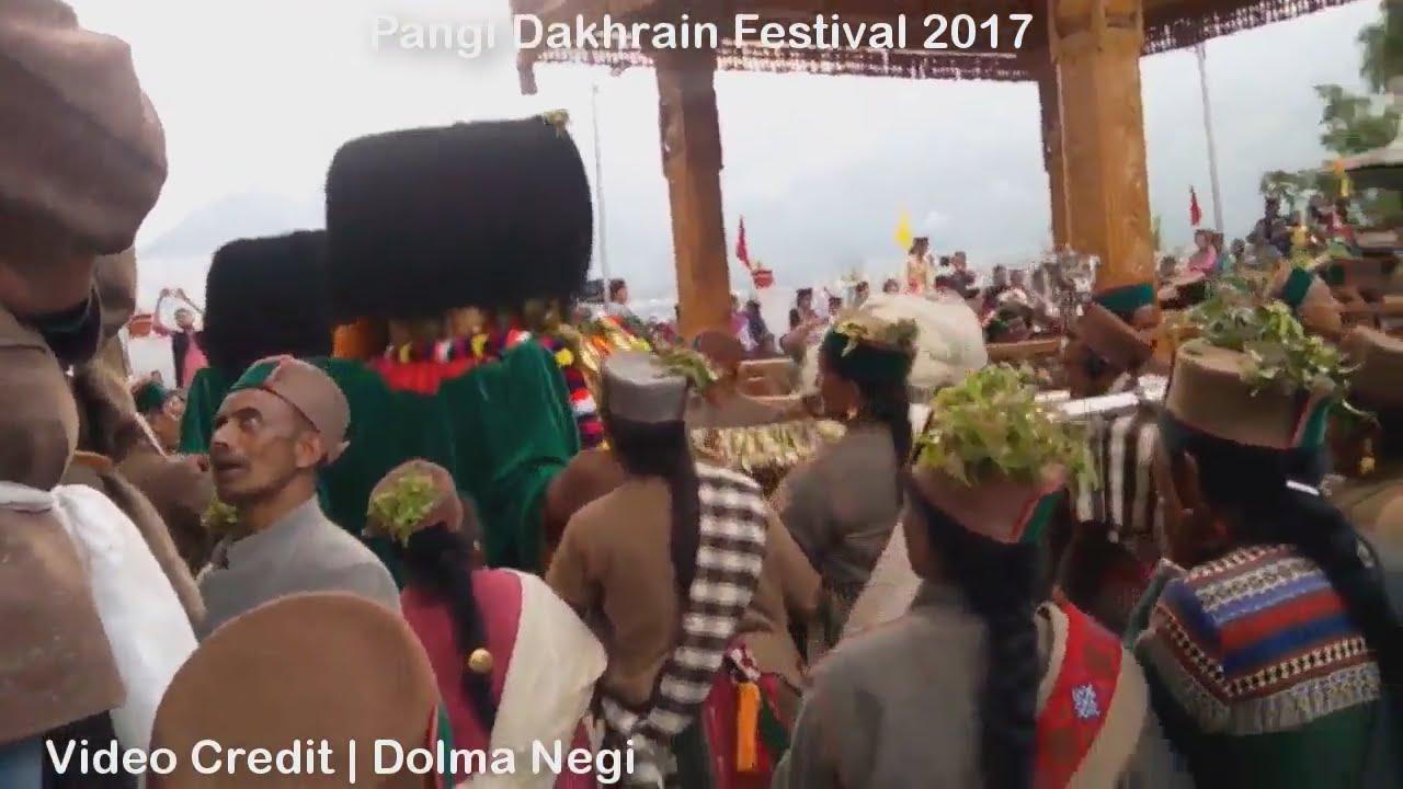 Pangi Dakhrain Festival 2017 - YouTube