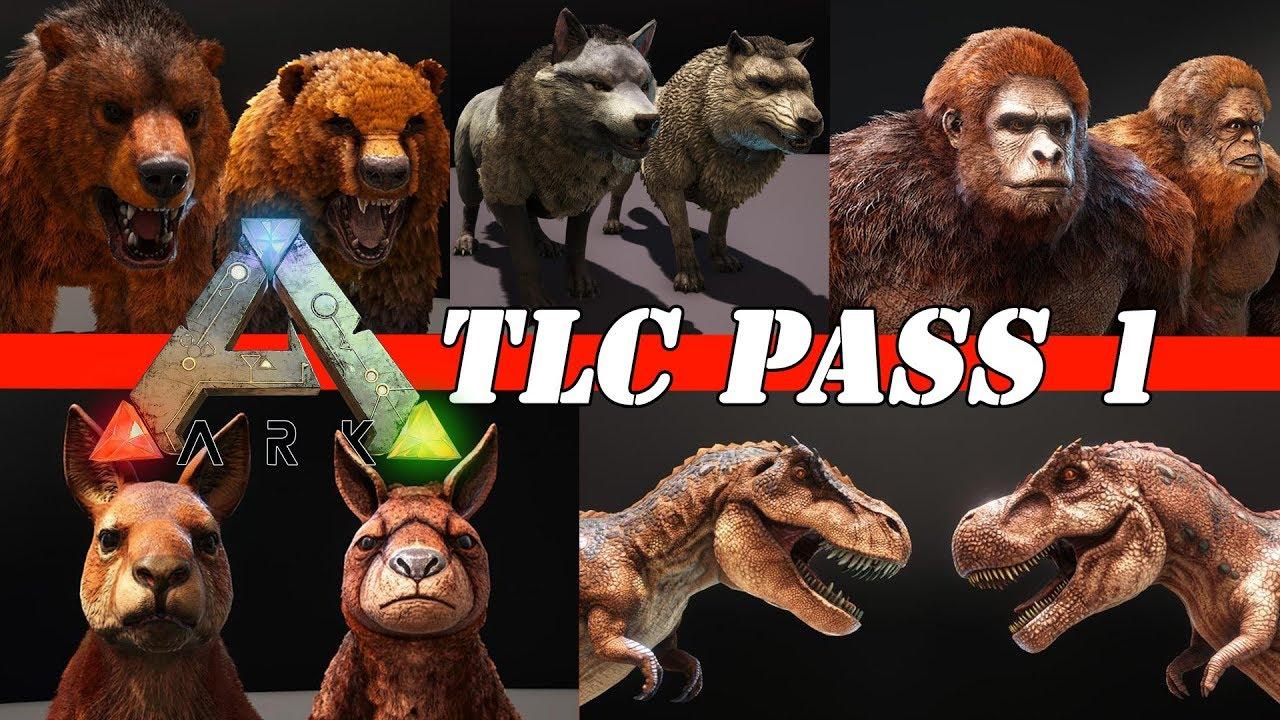 Ark Tlc Dino Pass 1 Neu Dino Design Update Guide Deutsch Patch 278 Youtube