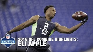 Eli Apple (Ohio State, DB) | 2016 NFL Combine Highlights