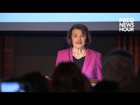 WATCH: Feinstein wins fifth term as California senator