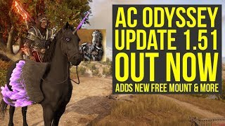 Assassin's Creed Odyssey Update 1.51 OUT NOW - Adds New Mount & More! (AC Odyssey Update 1.51)