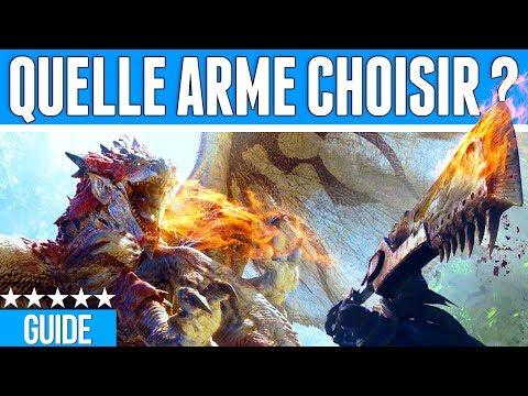 GUIDE DES ARMES MONSTER HUNTER WORLD - QUELLE ARME CHOISIR ? thumbnail