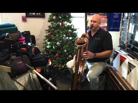 Contrabass Saxophone Christmas Tunes - Charles Gray on the Tubax