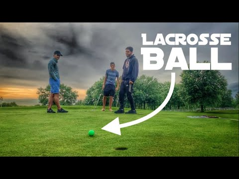 Playing Golf With A Lacrosse Ball | Loser Sings In Public | Featuring GM Golf And The Crew
