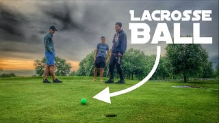 Playing Golf With A Lacrosse Ball   Loser Sings In Public   Featuring GM Golf And The Crew