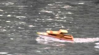 rc knk cabin cruiser boat