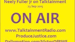[1h]Neely Fuller- Human Zoos/Sarah Baartman, Thug Life & Refugee Crisis | 23 Sep 2015