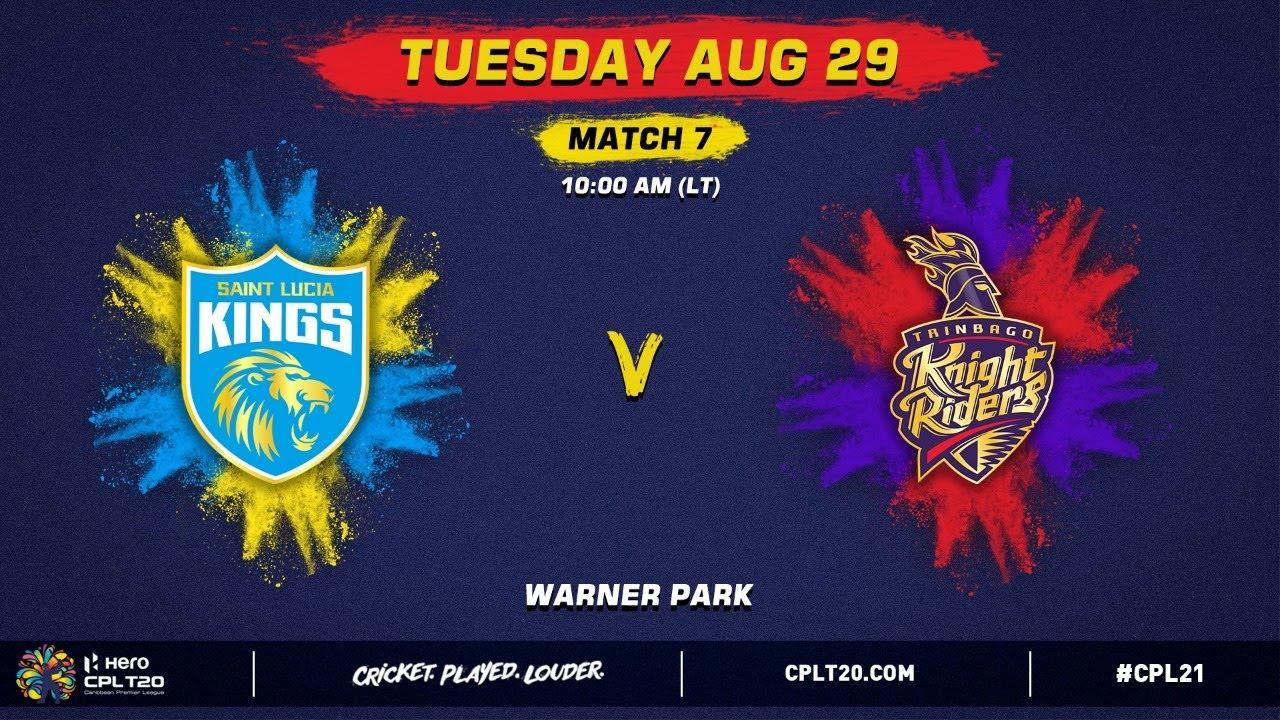 Download LIVE | Saint Lucia Kings vs Trinbago Knight Riders | CPL 2021
