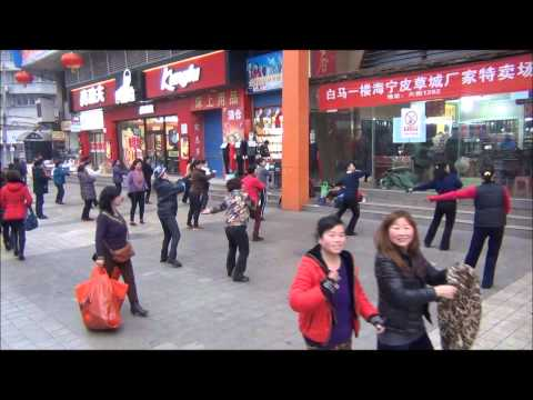 Dancing in the Streets of Wuhan China