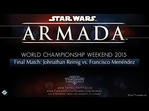 Worlds 2015 Star Wars Armada Final Match