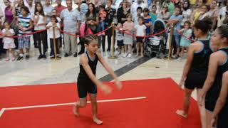 Jimnastik gösterisi(Tarsus Akademi Cimnastik Kulübü-Tarsu Avm)