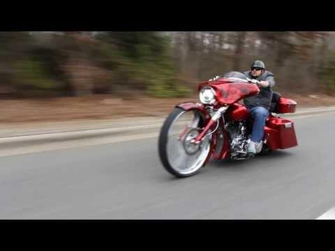 30 Inch Big Wheel Custom Bagger