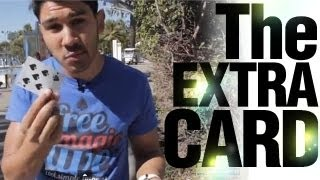 Free Magic Tricks: Hard Card Trick: The Extra Card!