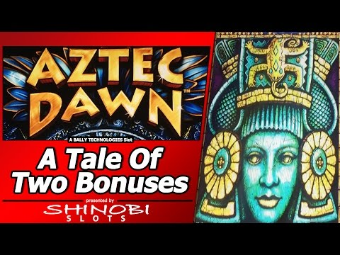 Aztec Dawn Slot - Tale of Two Free Spins Bonuses