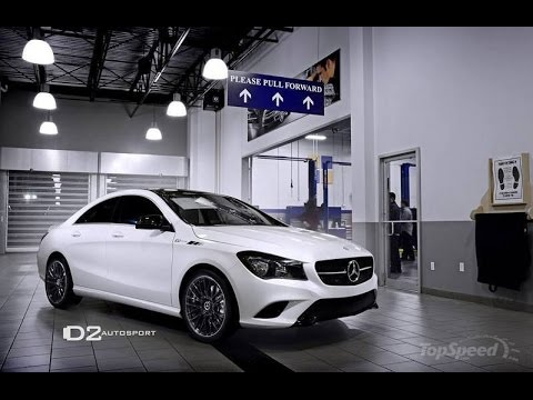 2014 Mercedes CLA250 By D2 Autosport - YouTube