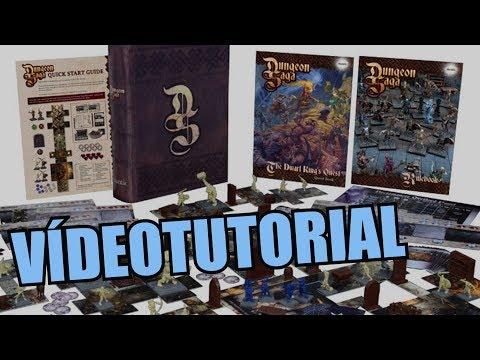Dungeon Saga - Juego de mesa - Reseña/aprende a jugar