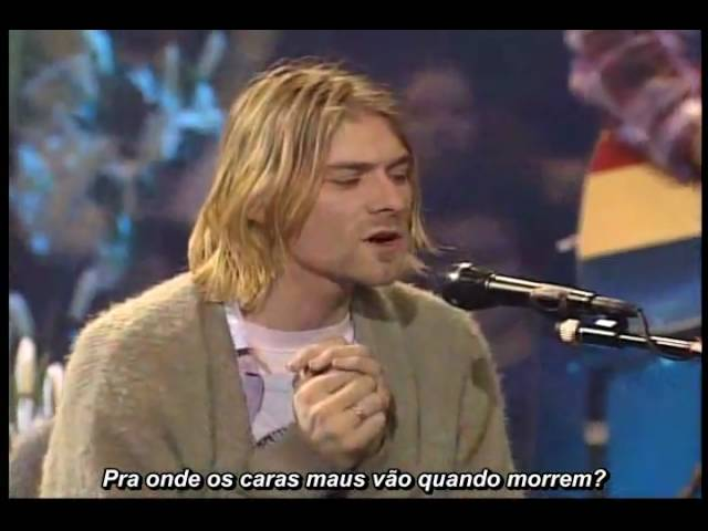 Nirvana - Lake Of Fire [Legenda Português]