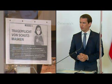 AFP Deutschland: Österreich will Corona-Maßnahmen bald lockern | AFP Extrait