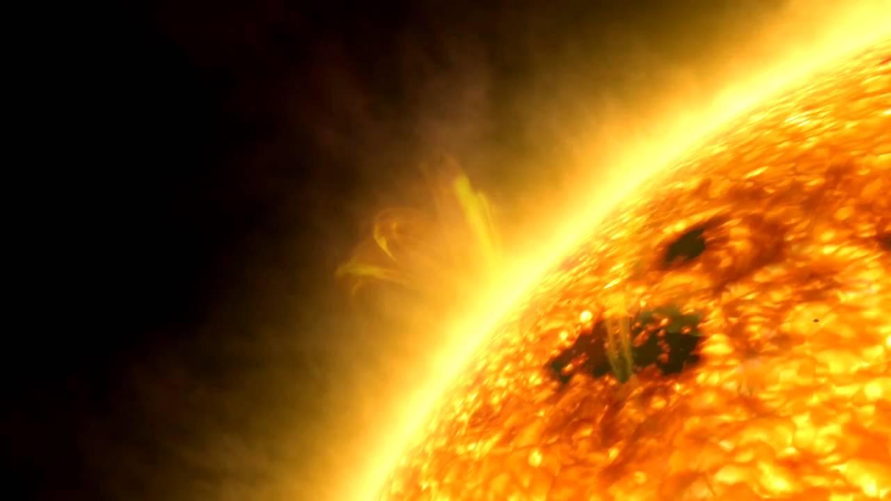 Sun closeup ESA Hubble - YouTube