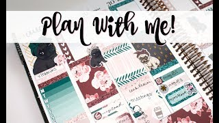 """Plan With Me! ft  Scribble Prints Co  """"Love Pug"""""""
