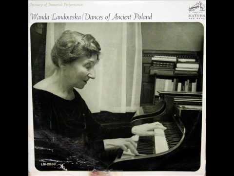 Oginski / Wanda Landowska, 1951: Polonaise in A minor (trans. Landowska) - RCA, LM 2830