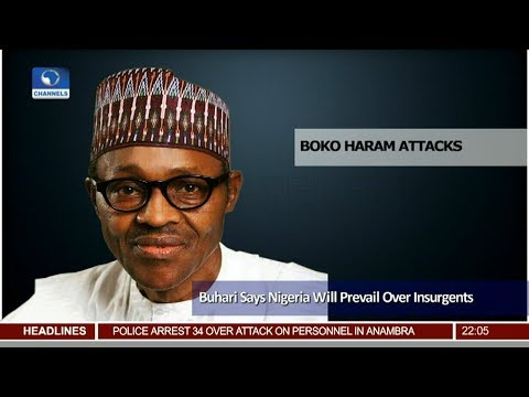 Nigeria Will Prevail Over Insurgents Buhari Assures 24/11/18 Pt.1 |News@10|
