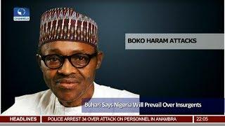 Nigeria Will Prevail Over Insurgents Buhari Assures 24/11/18 Pt.1  News@10 