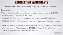 How Do You Calculate the VA Guaranty and Available Entitlement?