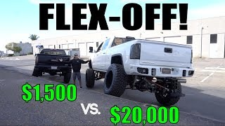 WHO'S TRUCK FLEXES BETTER?!