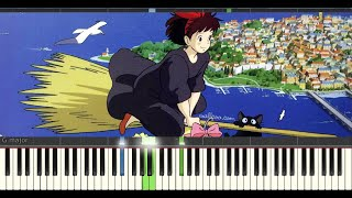 "Video How To Play ""Kiki's Delivery Service"" Piano Tutorial download MP3, 3GP, MP4, WEBM, AVI, FLV Agustus 2018"