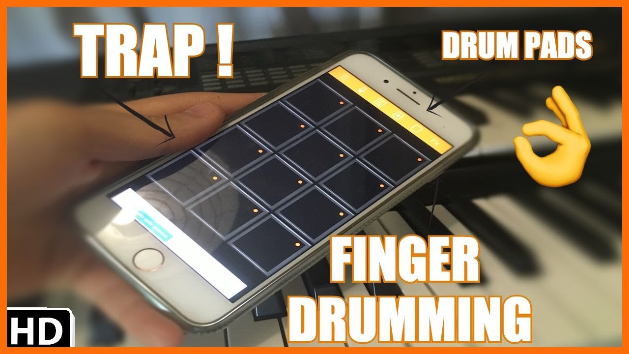 DRUM PADS! TRAP! FINGER DRUMMING! (by Yhugo Slave)
