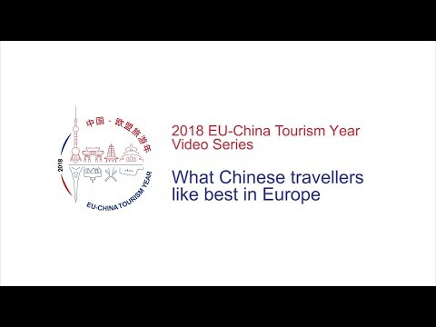 What Chinese travellers like best in Europe | 2018 EU-China Tourism Year Video Series