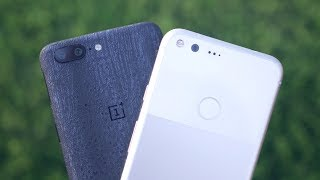 OnePlus 5 vs Google Pixel XL: Two of our favorite phones, compared