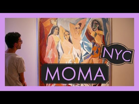 Museum of Modern Art - Free Museum Friday - Best places NYC - MOMA