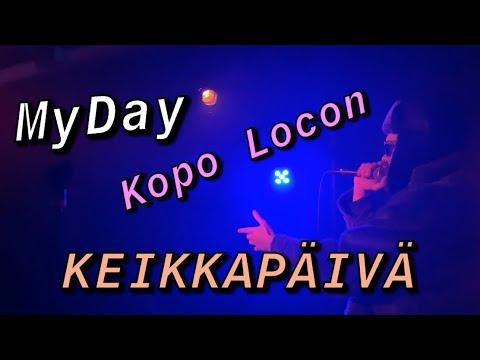 MyDay: Kopo Locon Keikkapäivä 🔥🎙