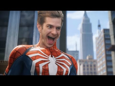 Alone! andrew garfield as spider man with you