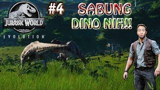 DINONYA KELAHI !!! #4 - Jurassic World Evolution Indonesia