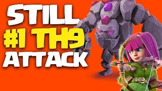 IS THIS STILL THE BEST TH9 ATTACK STRATEGY for 3 STARS ?! | Clash of Clans