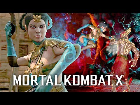 Mortal Kombat X: Kitana Klassic Tower On Very Hard | 2018 #KITANA