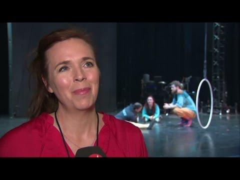 Svensk cirkusgrupp på gästspel i New york - Nyheterna (TV4)