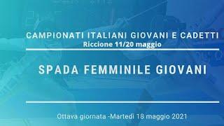 Campionati Italiani Giovani e Cadetti - Riccione 11/20 maggio 2021
