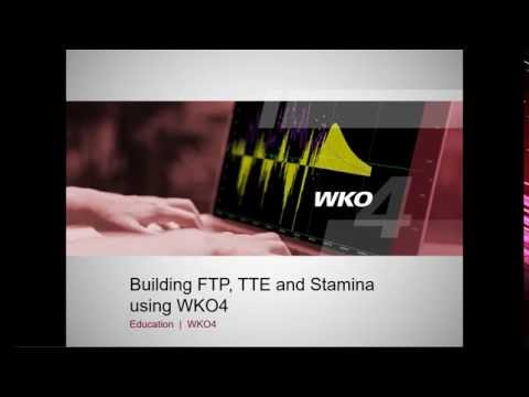 WKO4 Webinar: Building Functional Threshold Power and Stamina