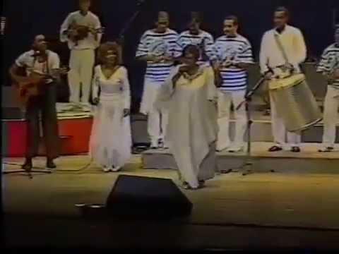 GAL COSTA e ELZA SOARES no Percpan 1996