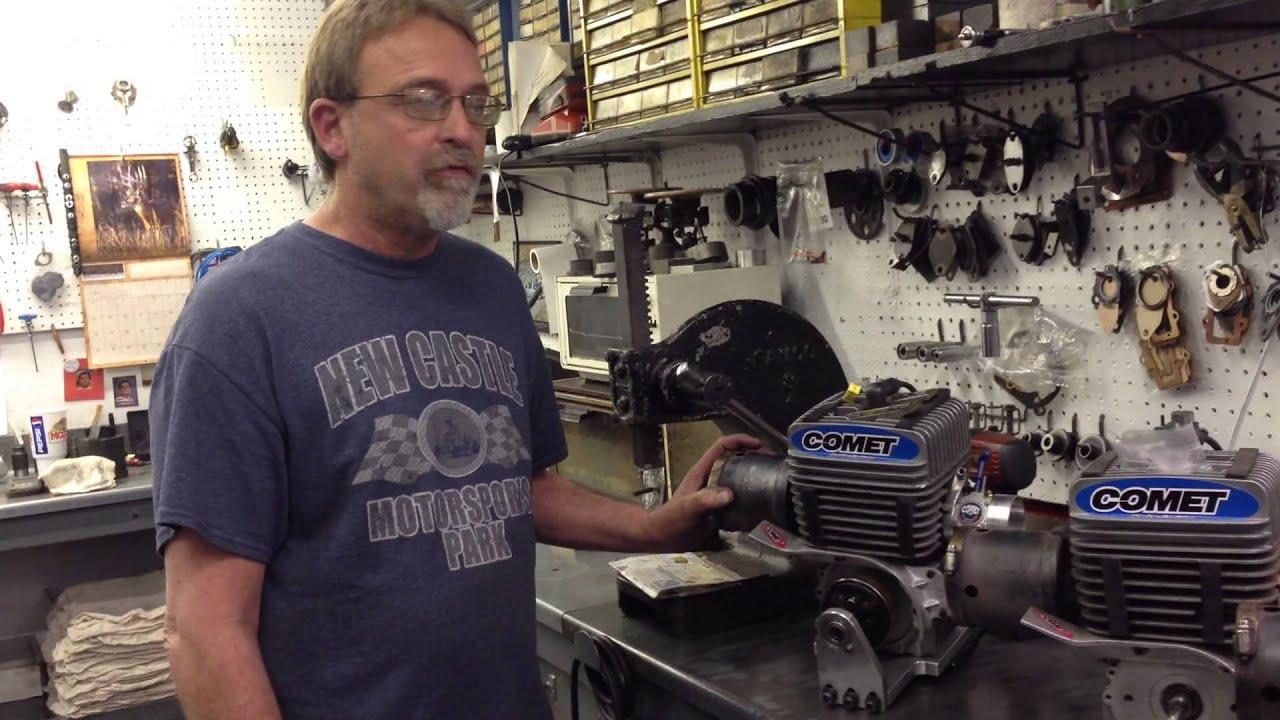 The Yamaha KT 100 Kart Engine