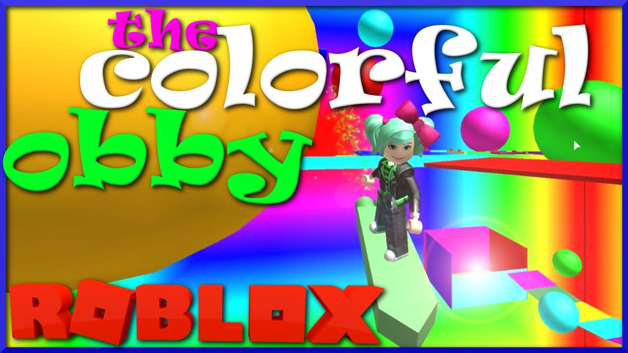 Roblox The Most Colorful Shortest Fun Rainbow Obby Ever - escape the colorful houses obby roblox
