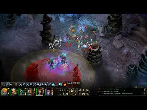 Pillars of Eternity Evil Playthrough in Hard (HD) - Vithrack Crystal |